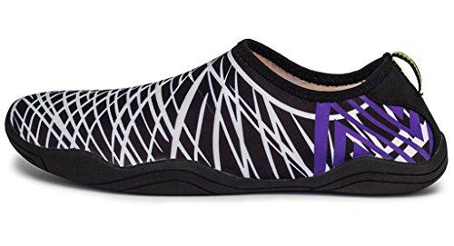 Secado para Yoga A1 esnórquel Zapatos haoYK Goma Playa de de de White Suave Ligeros Agua Antideslizantes rápido Yoga 6BxxqIAPw
