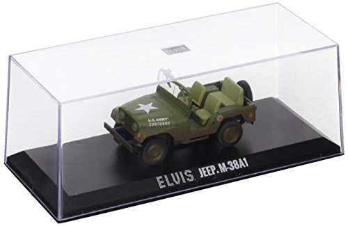 Greenlight 86311 Elvis Presley Cold War Era Willy's Army Jeep M-38A1 1:43 Scale Diecast ()