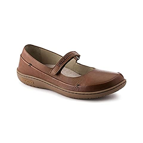 New Birkenstock Iona Nut Leather 41/10-10.5 R Womens Sandals - Iona Flat Shoe