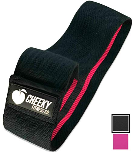 Cheeky Fitness Booty Bands | Soft Fabric Non-Slip Hip Band | Glute Circle Heavy Resistance Bands for Legs & Butt