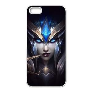 iPhone 5, 5S Phone Cases League of Legends Elise Durable Design Phone Case HYT403904