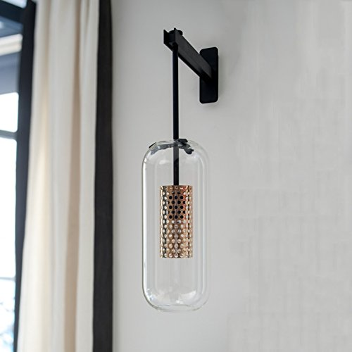 HUIYI Lampada da parete Nordic Modern Living Room Sfondo Camera da letto Comodino Corridoio Hotel Club Aisle Designer Villas