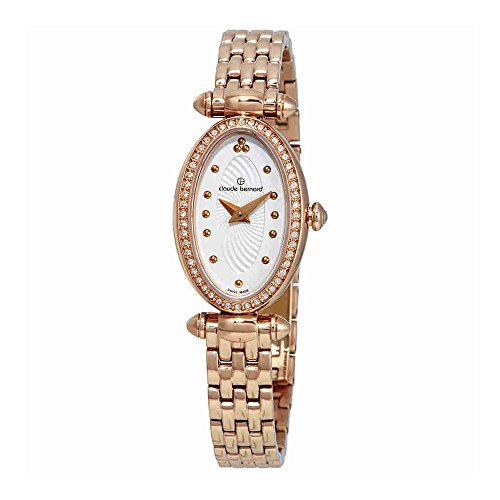 Claude Bernard Dress Code Silver Dial Ladies Watch 20210 37RPM AIR