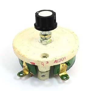Bobinado Cerámica Potenciómetro Ajustable Resistencia De Reóstato 100W 5 ohm