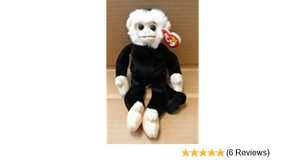 ad3423073b9 Amazon.com  TY Beanie Babies Mooch the Spider Monkey Stuffed Animal Plush  Toy - 9 inches tall  Toys   Games