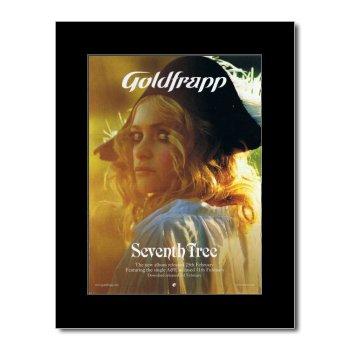 Goldfrapp - Seventh Tree Matted Mini Poster