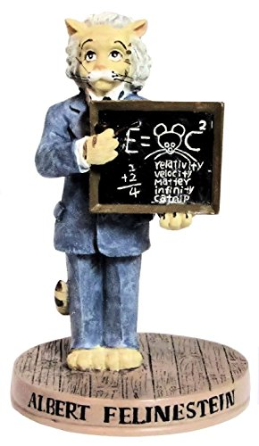 Ertl Collectibles Cat Hall of Fame Albert Felinestein Figurine - 4