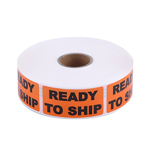 - Ready to Ship Label, 1000 Labels, 1