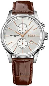 Hugo Boss Men's Chronograph Coco Leather Strap Watch 41mm 1513280