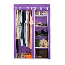 Harisons Homes Foldable Wardrobe with 5 Shelves