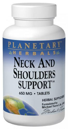 (Planetary Herbals Neck and Shoulder Support 650 mg Tabs, 90 ct)