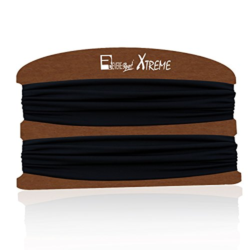 Exercise Headbands for Running, Yoga, Gym Workouts & Outdoor Sports . Non-Slip Sweat Wicking, Stretchy & Secure Sweatbands for Men and Women. Crossfit, Fitness, Runners, Cycling.