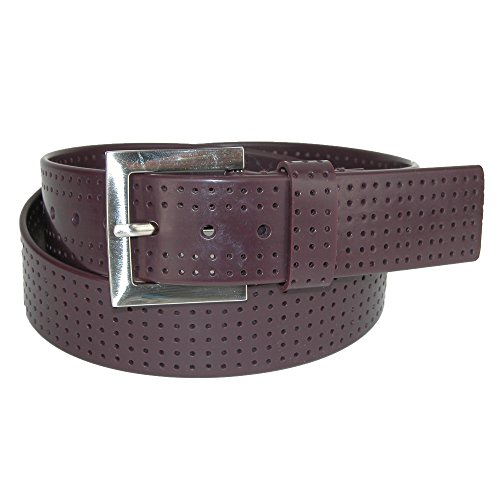 - PGA TOUR Silicone Perforated Golf Belt - Brown