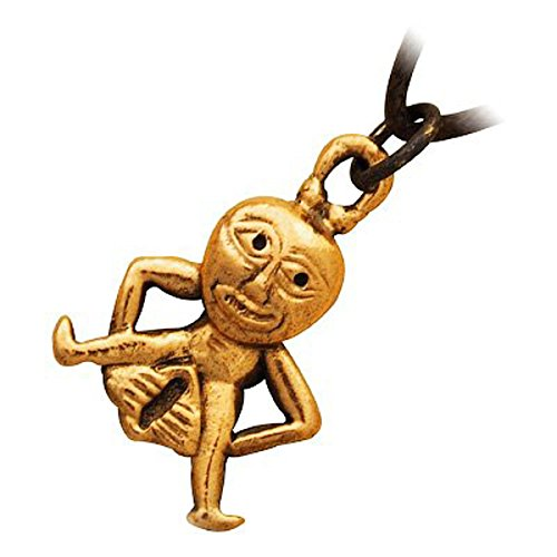 UPCO Jewellery Bronze Sheela Na Gig Celtic Pendant Necklace, Fertility or Healing Goddesses