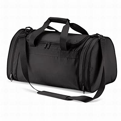 Quadra sports holdall in black - more-bags