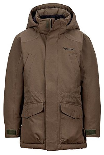 Marmot B Bridgeport Jacket Deep Olive Boys L by Marmot