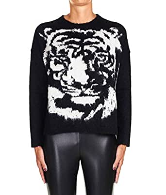Liu Jo Luxury Fashion Womens M69125MA75IB3453 Black Sweater | Fall Winter 19