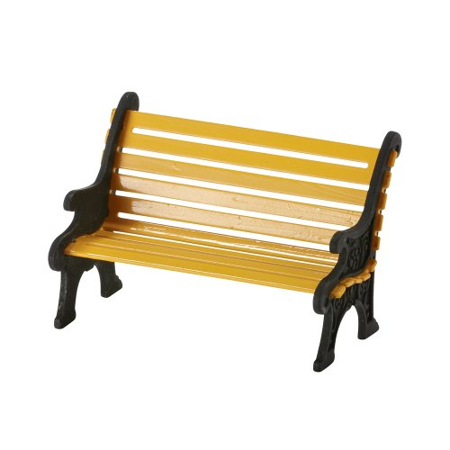 Department 56 Accessories for Villages City Wrought Iron Park Bench Accessory Figurine, 1.57 inch ()