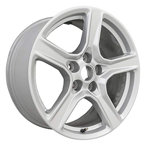 Multiple Manufactures ALY05758U20 Silver Wheel with Painted and Meets All Federal Motor Safety Standards (18 x 8.5 inches /5 x 120 mm, 32 mm Offset)