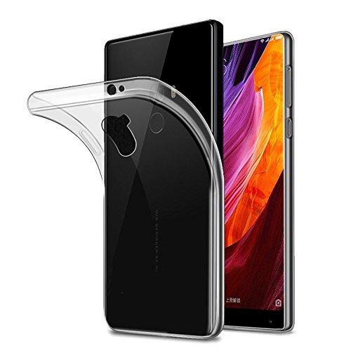 AVIDET Xiaomi Mi Mix 2 Case, Shock-Absorption Flexible Soft Gel TPU Silicone Case Cover for Xiaomi Mi Mix 2 ()