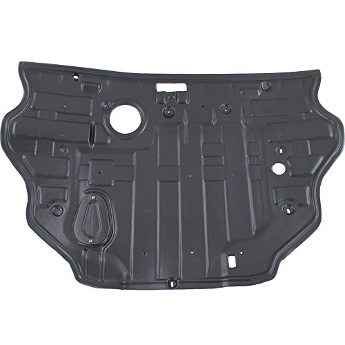 (Engine Splash Shield for Hyundai Sonata 11-14 Under Cover Rear 2.4L Eng W/O Sport Suspension)