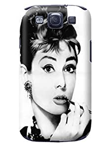 Hot New Samsung Galaxy s3 Case Pretty Cute Cool fashionable Lovely Audrey Hepburn Case