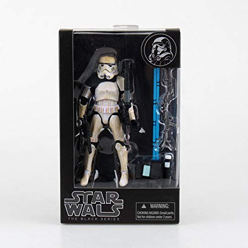 (HOLLUK 2016 The Force Awakens The Black Maul Captain Phasma Stormtrooper Figure with Box -Multicolor Complete Series Merchandise)