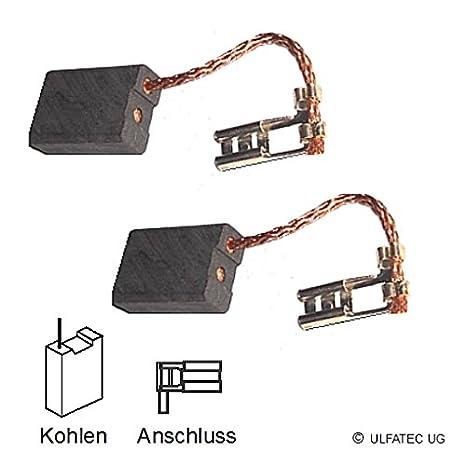 2142 4931259495-6,4x12,5x18mm 4931369476 ULFATEC /® Kohleb/ürsten Motorkohlen AEG ers