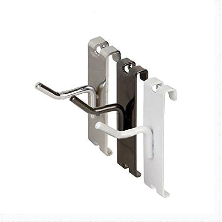 4 Gridwall Hooks 6 Pack White Grid Panel Display Hangers