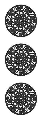 Trademark Innovations Decorative Metal Trivets