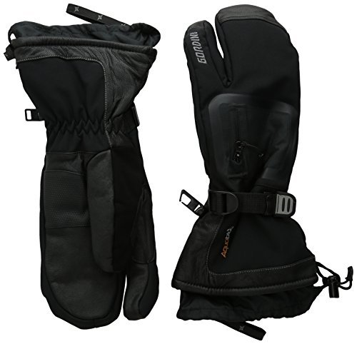 Gordini Mens Fuse Three Finger Gloves 4M2173