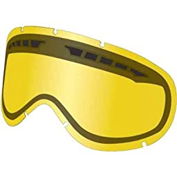 Dragon MDX Snow All Weather Replacement Lens without Posts - Yellow