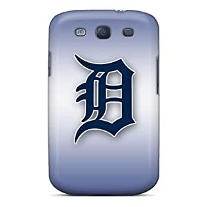 PhilHolmes Samsung Galaxy S3 Best Hard Cell-phone Cases Allow Personal Design Vivid Detroit Tigers Series [jvD10464uong]