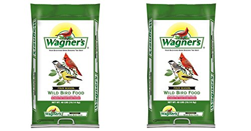 Wagner's 13013 Four Season Wild Bird Food, 40-Pound Bag - Stores Four Seasons