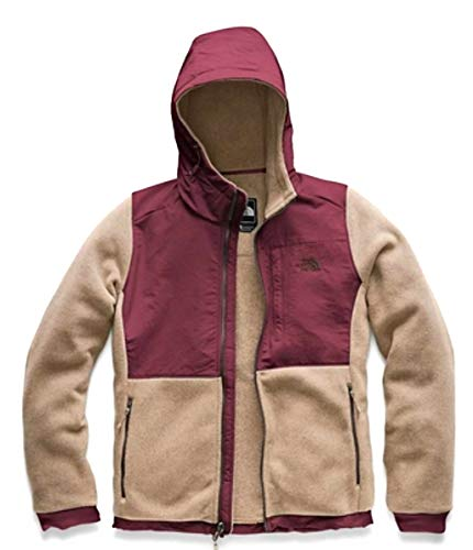 (The North Face Women Denali Hoodie 2 Doeskin Brown/Fig Size Medium)