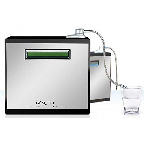 Tyent 11-Plate Water Ionizer, Turbo, Lifetime Warranty, Countertop Water Ionizer, Ultra PUREST Filtration, wi.mmp.11-Stainless/Black, Authentic Tyent Brand with Antioxidant Boost™