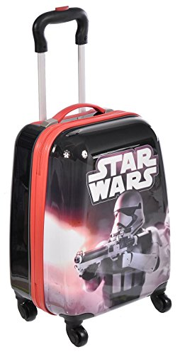 Star Wars Spinner Trolley Exclusive Designed Kids Hard Side Luggage Case 18 Inch - Exclusive Trolley