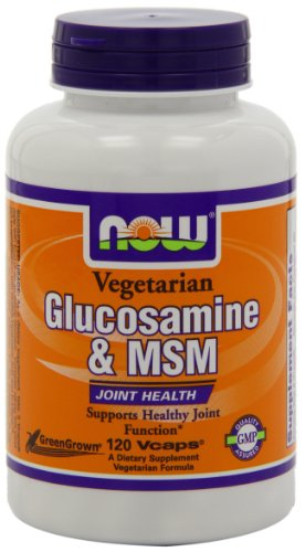 Now Foods Glucosamine And MSM - 120 Vcaps