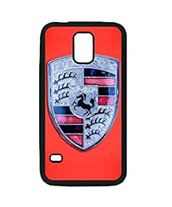 1971 Porsche 911 T Emblem - 0471c45 ~ S5 Black Rubber Tpu Case ~ Silicone Patterned Protective Skin Rubber Case Cover for Samsung Galaxy S5 i9600 - Haxlly Designs Case