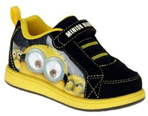 Despicable Me Minions Boys Velcro Athletic Shoes 10 M US (Despicable Me Shoes)