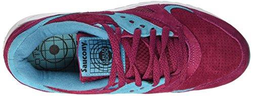 Rojo Saucony 8000 Rojo Zapatillas Unisex Adulto Premium Grid Merlot AAFqwOY