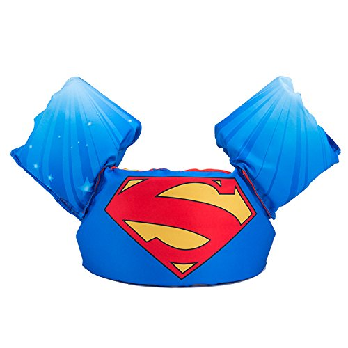 JKSPORTS Baby Floats for Pool,Kids Life Jacket from 30 to 50lbs, Compatible 20-30 Pounds Infant/Baby/Toddler, Swim Vest with Arm Wings for Boys and Girls (Superman)