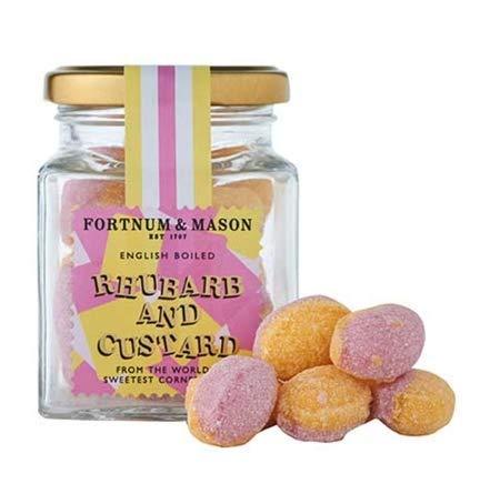 Fortnum & Mason Rhubarb & Custard Sweets, 150g by Fortnum & Mason (Image #1)