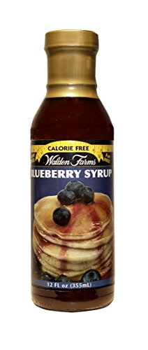 Walden Farms Blueberry SYRUP - Sugar Free, Calorie Free, Fat Free, Carb Free, Gluten Free - 1 Bottle ()