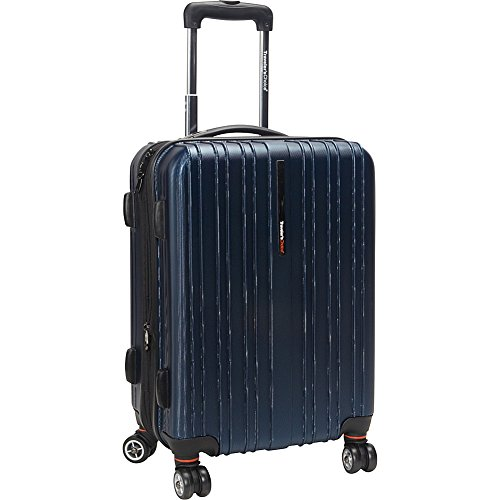 travelers-choice-tasmania-100-pure-polycarbonate-21-expandable-spinner-luggage-navy