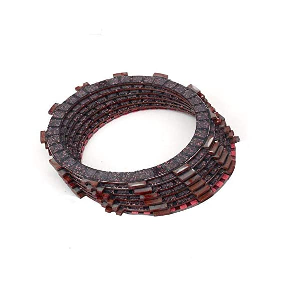 ALLEXTREME MK Clutch Plate Set for Royal Enfield Bullet STD Electra Classic 350CC