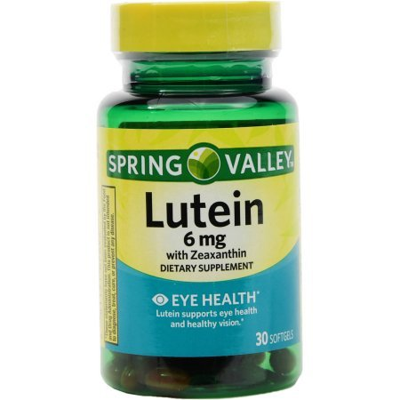 Spring Valley - Lutein 20 mg, 30 Softgels by Spring Valley (Image #2)