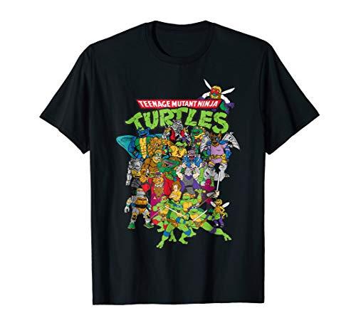 Teenage Mutant Ninja Turtles Large Character Group T-Shirt]()