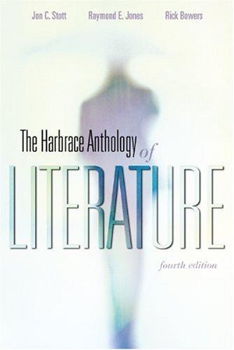 HARBRACE ANTHOLOGY OF LITER. >