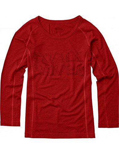 Fjallraven Kids Trail Top Longsleeve, Red, 140 by Fjallraven